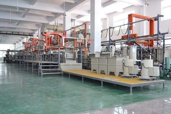 Quality Neodymium iron Peng automatic gantry barrel plating line for sale