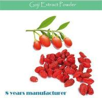 China Improving Immunity Goji Extract/ Goji Berry Extract/ Barbury Wolfberry Fruit Extract wholesale