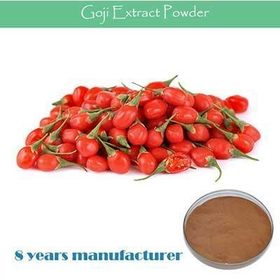 Quality The top Quality Wolfberry extract food additives Goji powder Polysacchrides 50% for sale