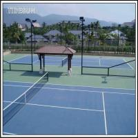 China Indoor PU Synthetic Tennis Court Surface Sports Liquid Flooring wholesale