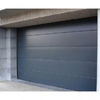 China Automatic Residential Wooden Steel Sectional Garage Doors wholesale
