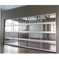 China New Automatic Motorised Residential Overhead Sectional Transparent Garage Doors wholesale