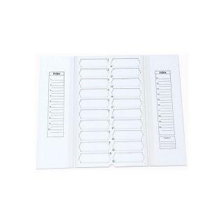 Quality 20 pieces slide mail folders without lid for sale