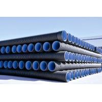 China HDPE Double-wall Corrugated Pipe wholesale