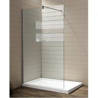 China SUS 304 Frameless Shower Walk-in with Froested Glass on sale