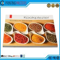 China High Quality Full Color Cook Book Printing wholesale
