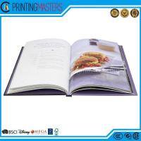 China Full Color Personalized High Quality Cookbook Printing wholesale