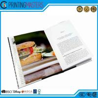 China Fancy Hardcover Color Design Cooking Book wholesale