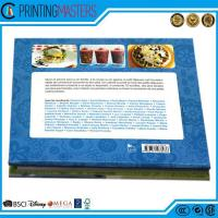 China Colorful High Quality Hardcover Cook Book Printing wholesale