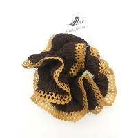 China Girls Hair Accessory Solid Color Circle Elastic Hair Scrunchies on sale