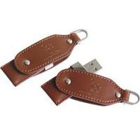Buy cheap Brown Leather USB Flash Drive from wholesalers