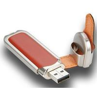 Buy cheap USB Flash Drive Leather from wholesalers