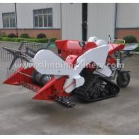 Buy cheap 4LZ-0.7 mini muddy field applicable mini wheat combine harvester from wholesalers
