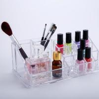 Buy cheap Acrylic cosmetic box with drawer combination suit acrylic cosmetic box from wholesalers