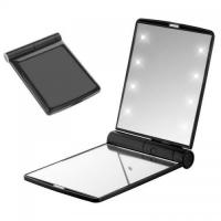 Buy cheap Folding Pocket Vanity 8Led Mirror from wholesalers