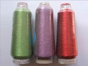 Quality METALLIC YARN Metallic yarn / Lurex yarn MS Type ( Round Yarn) for sale