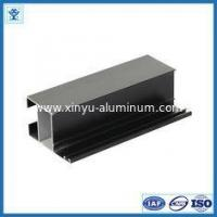 Black anodize oxidation extruded aluminum profiles for LED light , tolerance 0.2mm