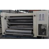 Corrugated Single Facer with Two sets of Corrugated Rollers quick changing flute