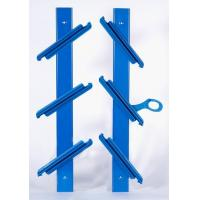 Buy cheap alum. louvre frames with PP clips 6DPAA40-H2BL from wholesalers