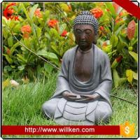 Animal Statues Life size garden decorative laughing sitting buddha for sale