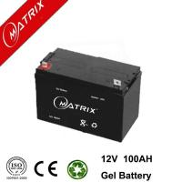 China 12V 100AH GEL Battery High Performance on sale