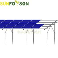 China Quick Installation PV Mounting Solar Panel Ground Mount on sale