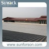 China Tile Roof Solar Panel Roof Mount Systems For Commercial Application wholesale