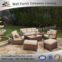China Well Furnir WF-17078 Wicker 7pc Deep Seating wholesale