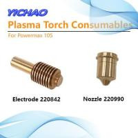 105A Nozzle 220990 Electrode 220842 Plasma Torch Consumables for Powermax105