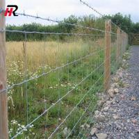 Hinge joint knot cattle fence