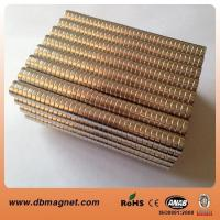 China Super Strong Sintered Disc NdFeB Magnets on sale