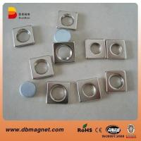 China Strong Block NdFeB Magnet with Hole N35 on sale