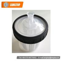 Car Care Series Plastic paint cups with inner cups, lid, hard cup and outer ring 600ml filter LT-P