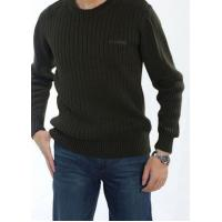 China Men's Winter Casual Round Neck Cotton Sweater | Basic Pullover Sweater wholesale