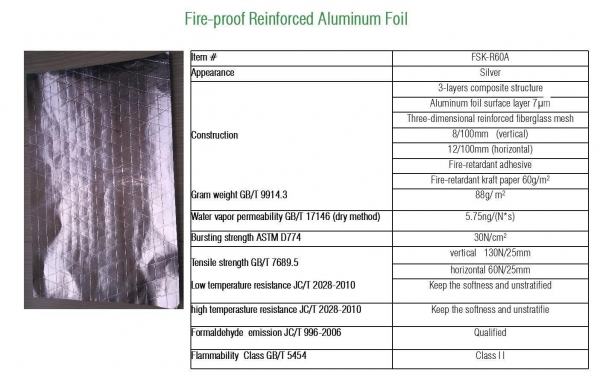 Quality Reinforced Aluminum Foil for sale