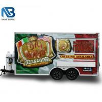 Cube style Food trailer
