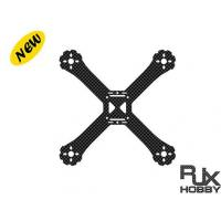 RJX C190 thickness 5mm Carbon Fiber Main Frame for FPV Racing Drone Support 2204 2205 Motors 1Pcs