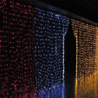 Buy cheap Outdoor Decoration LED Christmas Curtain Light from wholesalers