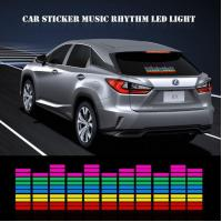 Buy cheap Music Activated LED Car Sticker from wholesalers