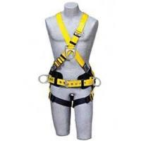 Delta II Cross-Over Style Harness with Pass-Thru Buckles and Back Belt