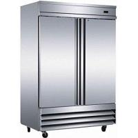 "China 54"" Upright Stainless Steel 2 Door Commercial Refrigerator, 46.5 Cubic Feet, CFD-2RR, for Restaurant wholesale"
