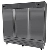 "China Heavy Duty Commercial Stainless Steel Reach-In Refrigerator (81"" Three Solid Door) wholesale"