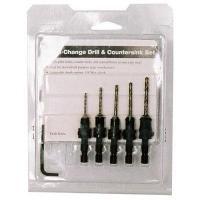 Buy cheap 5 Piece Drill/Countersink Set from wholesalers