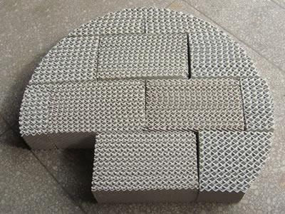 Quality Structured Packing Ceramic structured packing for sale
