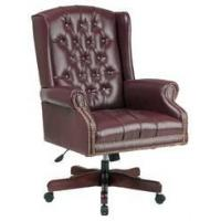 China Traditional Wing Back Swivel Chair wholesale