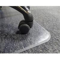 Low Pile Carpet .133 Thick Beveled Chair Mats - 36x 48 - See More Sizes