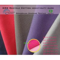 Buy cheap Recycle cotton fabric ECO-GRS Recycled Cotton Heavy-Duty duchk from wholesalers