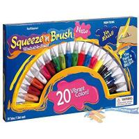 China Squeeze N Brush Childrens Non Toxic Washable 2 in 1 Paint Tubes Art Craft Set from MTS wholesale