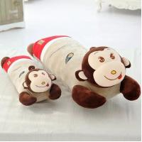 Long monkey pillow sleeping pillow monkey cushion DS-MK008