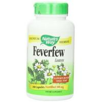 China Nature's Way Feverfew Leaves, 380 MG, 180 Capsules wholesale